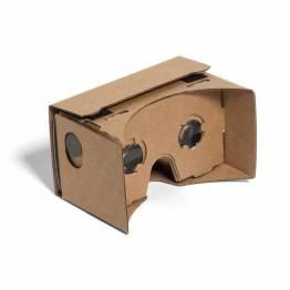 Google Cardboard with lenses